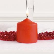 Candle and Rock Accents